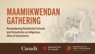 Maamiikwendan Gathering event poster.