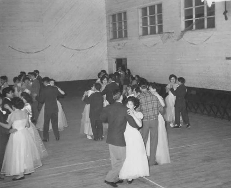 People dancing at St. Mary Mission
