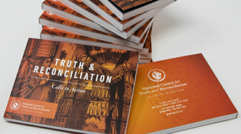 Truth and Reconciliation Calls to Action booklet.