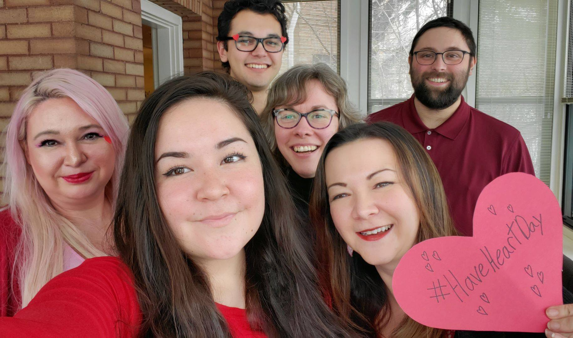 Group of NCTR staff for #HaveHeartDay