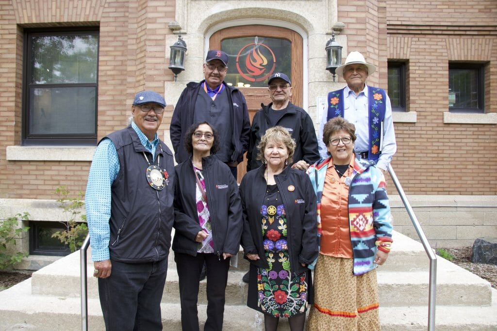 Survivors Circle members in front of NCTR building.